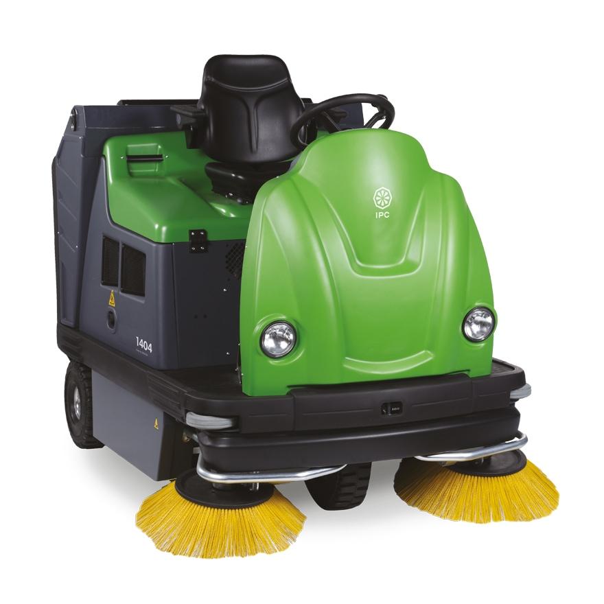 Ride On Vacuum Sweeper 1404 IPC Eagle