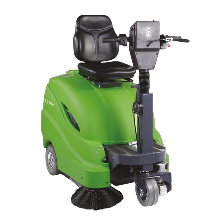 512 Ride On Vacuum Sweeper