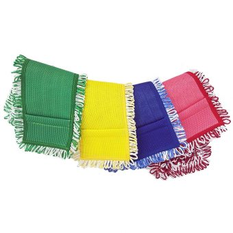 Color-Coded Loop Microfiber Mops