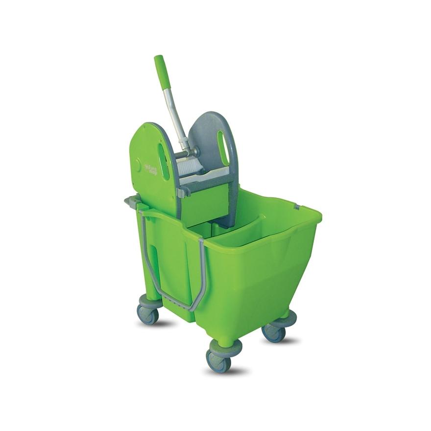 Dual Bucket Mop Microfiber System