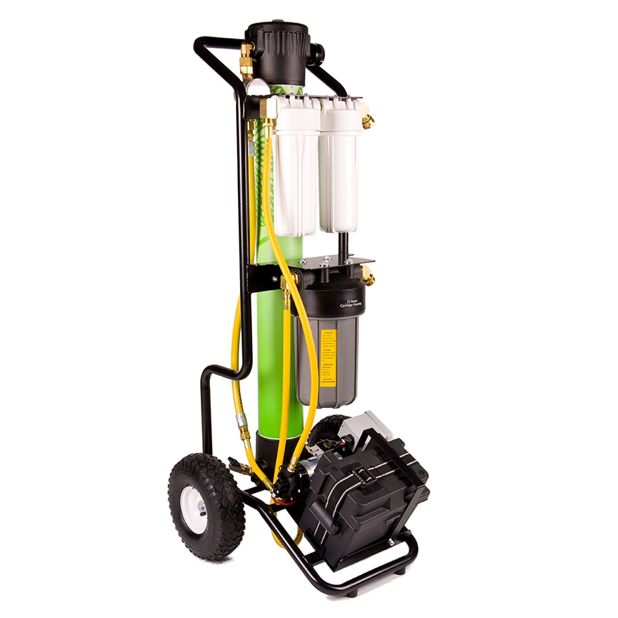 Hydro Cart Ultra Pure Window Cleaning Equipment
