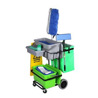 One Cart Cleaning Carts