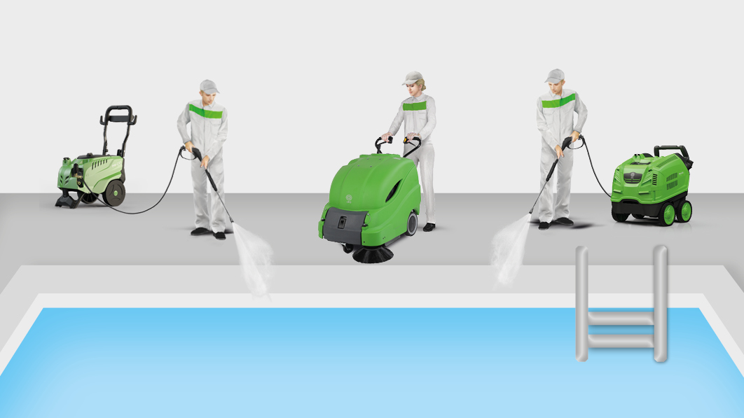 ipc-machines-cleaning-pool
