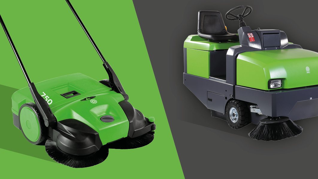 main image industrial sweepers