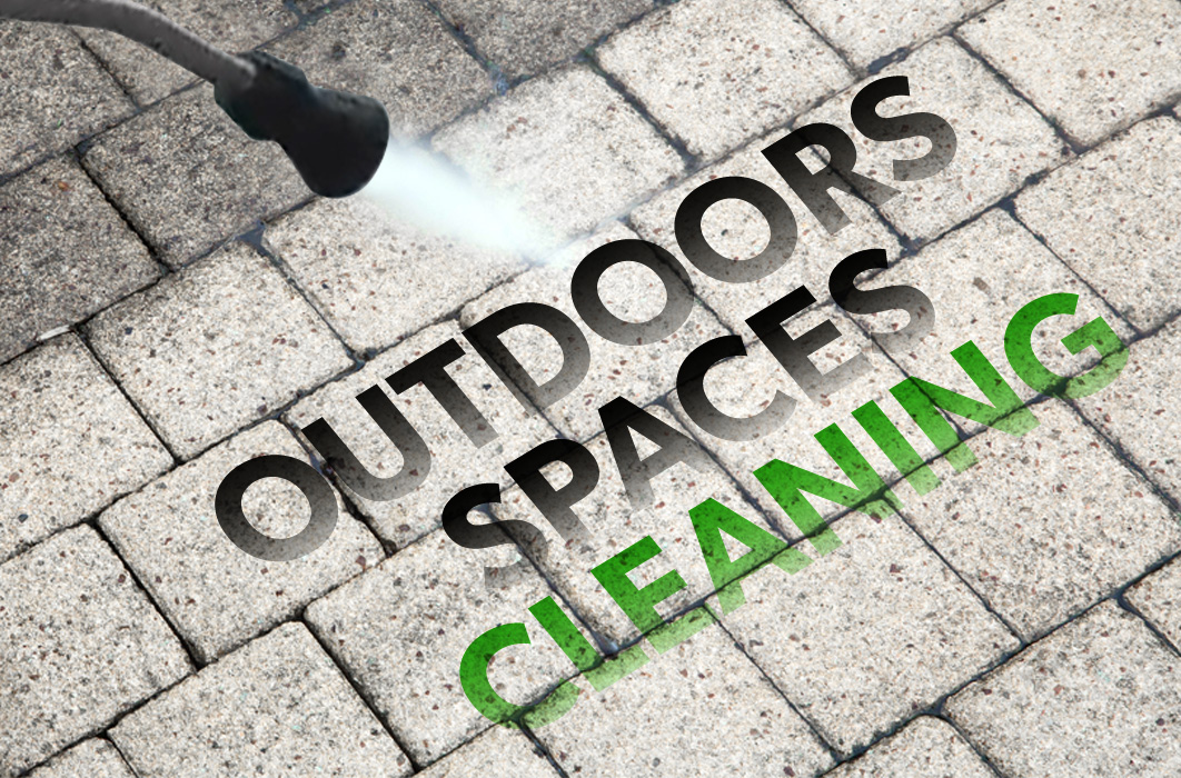 Outdoors space cleaning
